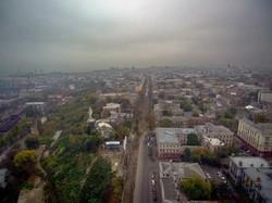 Туманную Одессу показали с высоты птичьего полета (ФОТО, ВИДЕО)