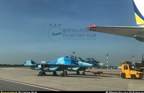 В Бангладеш украинские Ан-124 доставили отремонтированные в Беларуси МиГ-29