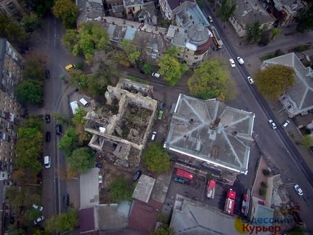 """Что ждет руины """"масонского"""" дома в Одессе (ФОТО)"""