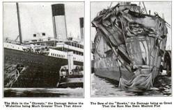 Исторические казусы: сестра-близнец «Титаника» - живущая за троих