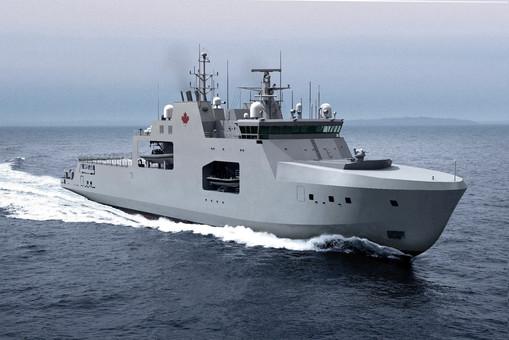 Канада продолжает наращивать потенциал своего арктического флота
