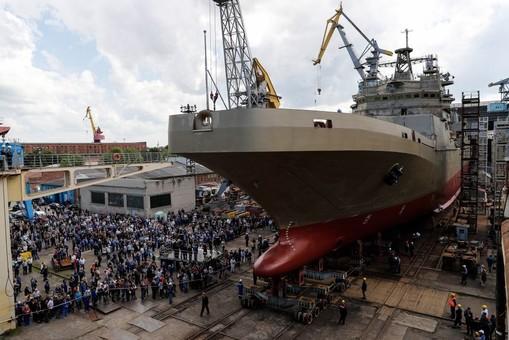 Проблемные российские БДК продолжают свои проблемные испытания