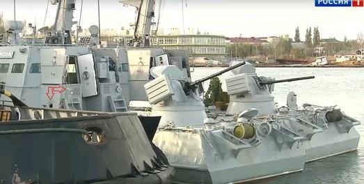 В Одессу вернут захваченные Россией военные корабли ВМС Украины
