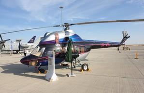 "Украина представила на ""Dubai Air Show 2019"" Ми-2МСБ-1"