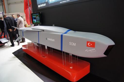 Турция испытала крылатую ракету SOM-B1