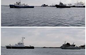 Россия передает обратно захваченные корабли, они идут в Одессу