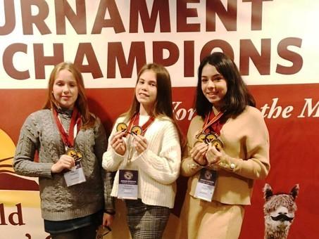 Одесские школьницы стали победительницами интеллектуальной олимпиады в Йельском университете