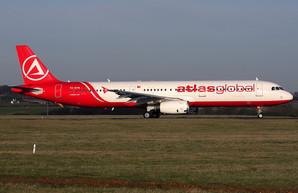 Турецкая авиакомпания «Atlas Global», летающая в Одессу, находится на грани банкротства