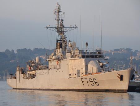 В Одессу направляется французский боевой корабль