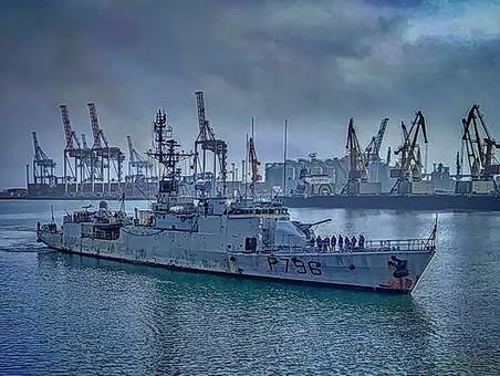 В Одесский порт зашёл французский корвет