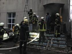На Молдаванке тушили пожар в ПТУ