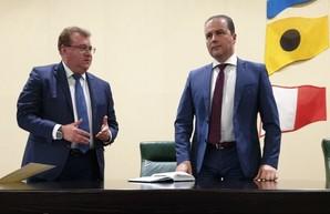 В Пивденном под Одессой представили нового руководителя государственного стивидора