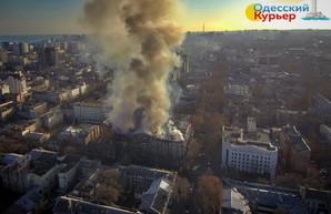 Как начинался страшный пожар в Одессе в доме Асвадурова