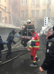 Как простой одессит спас людей на пожаре с помощью обычной автовышки