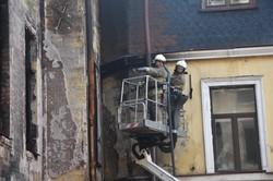 Из сгоревшего дома Асвадурова в Одессе вывезли уже более полутора тысяч кубометров завалов (ФОТО, ВИДЕО)