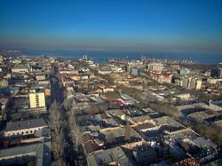 Декабрьская Одесса с высоты птичьего полета (ФОТО)