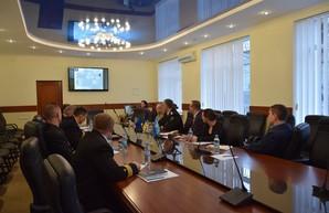 Делегация экспертов НАТО посетила Одесскую морскую академию