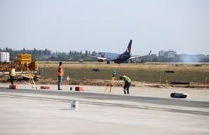 Работы по реконструкции Международного аэропорта Одесса продолжат весной этого года