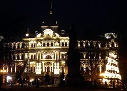 В Одессе включили подсветку на доме Руссова (ФОТО)