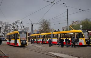 Одесса получила новые трамваи и первый электробус в 2019 году
