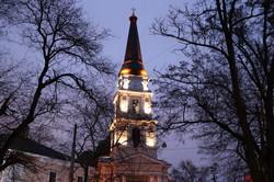 Вечерний рождественский вечер в Одессе (ФОТО)