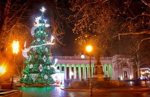 Новый год в Одессе будет без снега, но с легким морозом