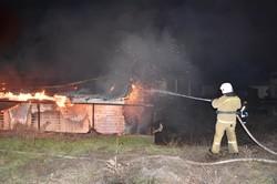 В Одессе сгорело кафе на пляже - это поджог