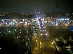 Новогодняя сказка в Одессе на Приморском бульваре (ФОТО, ВИДЕО)