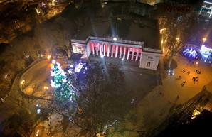 Одесса отмечает Новый год в режиме онлайн (видеотрансляция)