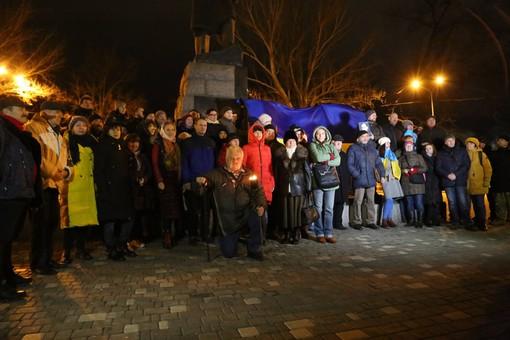 В Одессе отметили день рождения Бандеры