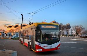 В Одессе временно не будут ходить троллейбусы в аэропорт
