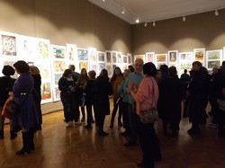 В Одессе открылась детская художественная выставка