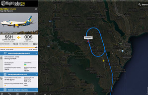 Вечером 14 января авиалайнер не смог приземлиться в аэропорту Одессы