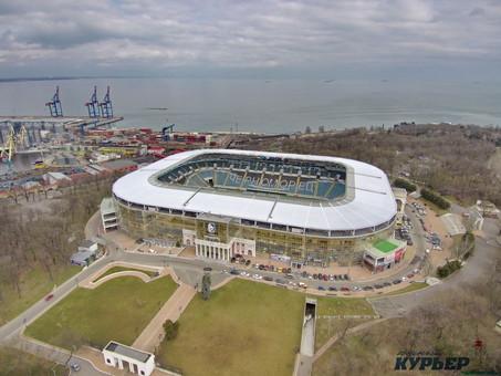 Одесский стадион в 14-й раз не смогли продать за долги банка Климова