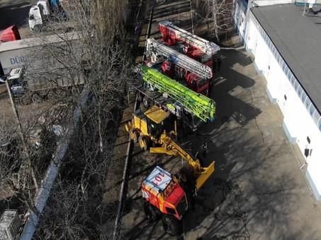 Одесским спасателям передали новую технику