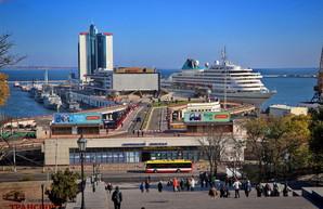В 2020 году в Одессе ожидают 11 пассажирских лайнеров