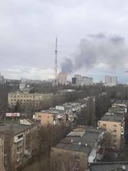 В Одессе во второй раз за сутки возник пожар на полях орошения (ФОТО)