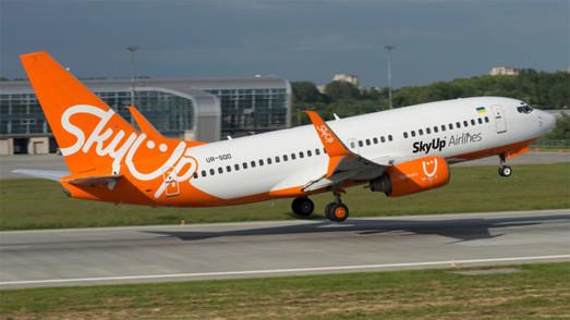 Украинский лоукостер «SkyUp» в мае начнет летать из Одессы на Крит и Кипр