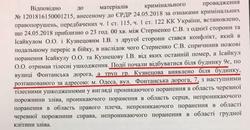 Стали известны результаты экспертного заключения по делу Стерненко: это было убийство