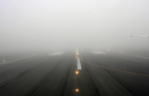 Туман снова вызвал сбой в работе Одесского аэропорта