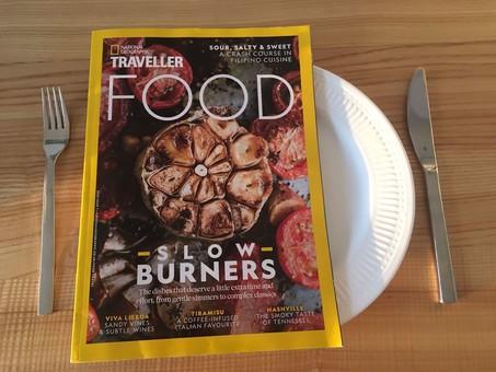 Одесская кухня стала темой журнала National Geographic