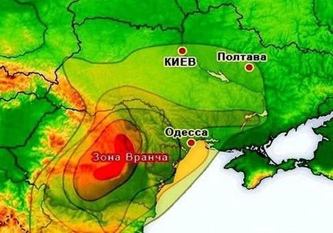 В Одессе и Одесской области ночью ощутили землетрясение из Румынии