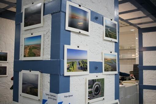 Контент-клуб открылся с выставки аэрофотографии об Одессе и Дунае (ФОТО, ВИДЕО)