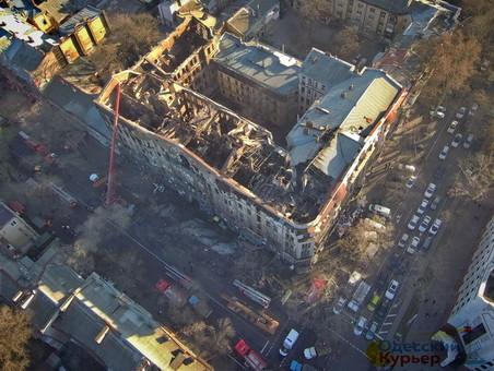 В Одесской мэрии сказали, что угрозы обрушения дома Асвадурова нет
