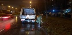 В Одессе вместо снега идет дождь, а коммунальщики откачивают воду (ФОТО)