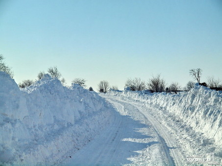 Количество обесточенных из-за непогоды населённых пунктов в Одесской области возросло