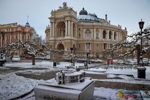 Морозы в Одессе прекратятся в понедельник