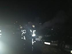 Пожар в Одессе уничтожил 20 автомобилей