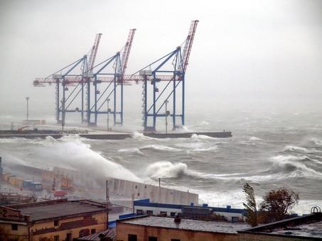 На Одессу идет очередной циклон с ураганным ветром