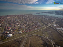 Как выглядит южная часть Одессы и Черноморск с высоты птичьего полета (ФОТО)